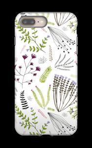 Kauniit kasvit kuoret IPhone 8 Plus tough