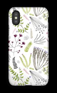 Fleurs & feuilles Coque  IPhone X tough