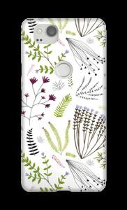 Blumen und Blätter Handyhülle Pixel 2