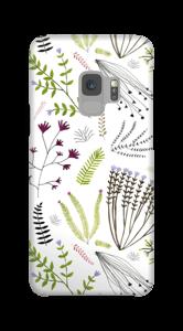 Blumen und Blätter Handyhülle Galaxy S9