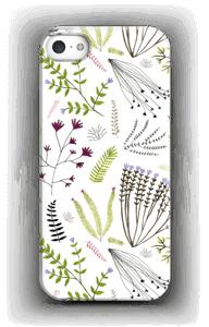 Kauniit kasvit kuoret IPhone 5/5S