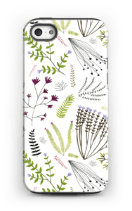 Blomster & blad deksel IPhone 5/5s tough