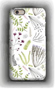 Blomster & blad deksel IPhone 6 tough