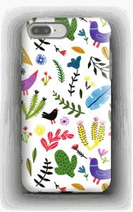 Birds with Flowers case IPhone 7 Plus tough