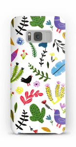 Birds with Flowers case Galaxy S8