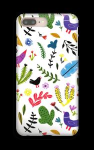 Oiseaux & fleurs Coque  IPhone 8 Plus