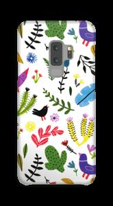 Oiseaux & fleurs Coque  Galaxy S9 Plus