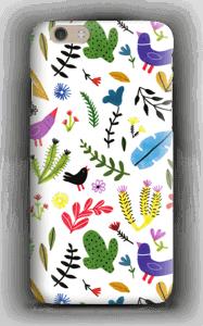 Fugler blant blomster deksel IPhone 6