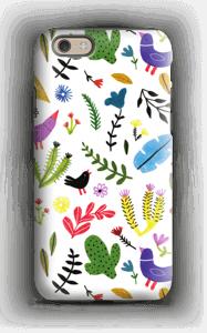 Fugler blant blomster deksel IPhone 6 tough