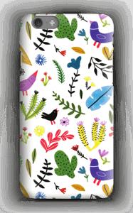 Fugler blant blomster deksel IPhone 6s
