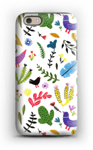 Fugle og blomster cover IPhone 6s tough