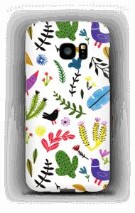 Birds with Flowers case Galaxy S7 Edge