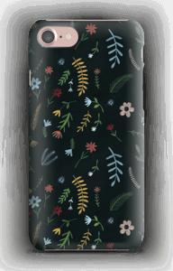 Fleurs dans le noir Coque  IPhone 7