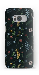 Flowers in the dark case Galaxy S8