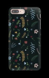 Blomster i mørket  deksel IPhone 8 Plus