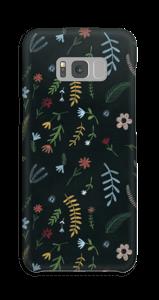 Tummat kukat kuoret Galaxy S8 Plus
