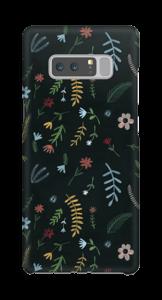 Blomster i mørket  deksel Galaxy Note8