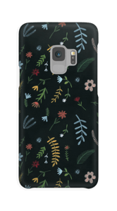 Blomster i mørket  deksel Galaxy S9