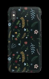 Flores en la oscuridad funda IPhone XS