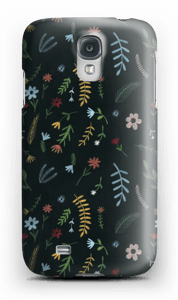 Blomster i mørket  deksel Galaxy S4