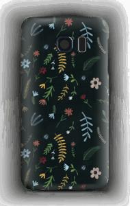 Blomster i mørket  deksel Galaxy S6