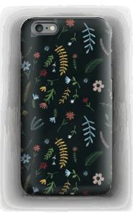 Fleurs dans le noir Coque  IPhone 6 Plus tough
