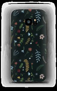 Flowers in the dark case Galaxy S7 Edge