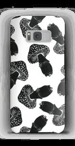 Schwarze Pilze Handyhülle Galaxy S8