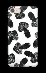 Svampe i sort cover IPhone 8