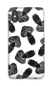 Black Mushrooms case IPhone X