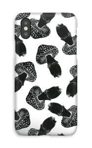 Setas negras funda IPhone XS
