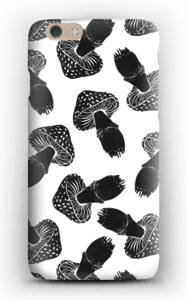 Black Mushrooms case IPhone 6