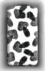 Svampar i svart skal Galaxy S6