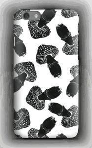 Black Mushrooms case IPhone 6s