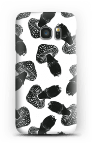 Schwarze Pilze Handyhülle Galaxy S7