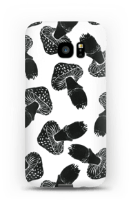 Black Mushrooms case Galaxy S7 Edge