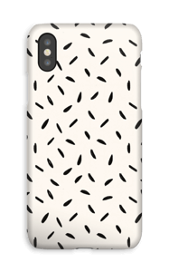 Pequeñas Semillas funda IPhone XS