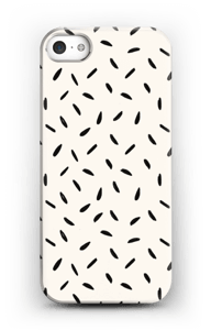 Black Seeds case IPhone SE