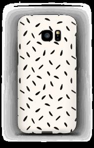 Black Seeds case Galaxy S7 Edge
