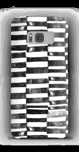 Trattini neri cover Galaxy S8