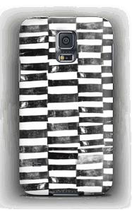 Mustat viivat kuoret Galaxy S5