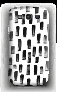 Penselstrøk deksel Galaxy S3
