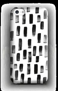 Paintbrush Print case IPhone 5c