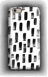 Traces noires Coque  IPhone 6 tough