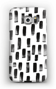 Paintbrush Print case Galaxy S6 Edge