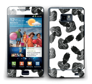 Champignons noirs Skin Galaxy S2