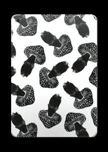 Black Mushrooms skin IPad 2017