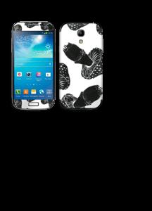 Svarte sopper Skin Galaxy S4 Mini