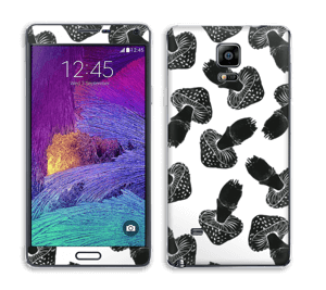 Champignons noirs Skin Galaxy Note 4