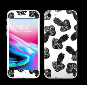Champignons noirs Skin IPhone 8